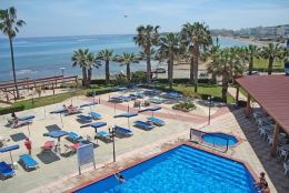 Отель Evalena Beach Hotel Apartments 3* (Кипр, Протарас)