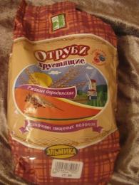 """Отруби хрустящие ржаные бородинские """"Эльмика"""""""