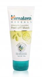 Отшелушивающая маска для лица Himalaya Herbals Almond and Cucumber Peel Off Mask