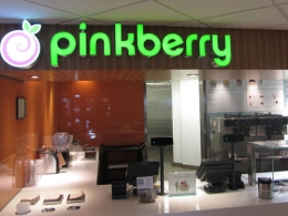 "Кафе ""Pinkberry"" (Москва, ТЦ ""Афимолл"")"