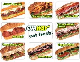 "Ресторан быстрого питания ""Subway"" (Самара, ул. Дыбенко, д. 30, ТЦ ""Космопорт"")"