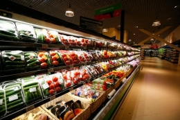 """Супермаркет """"Перекресток-зеленый"""" (Москва, ТЦ """"Афимолл)"""
