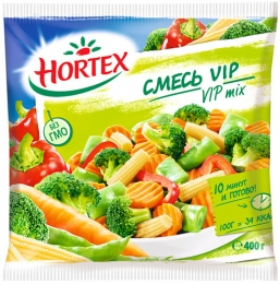 Овощная смесь замороженная  Hortex VIP