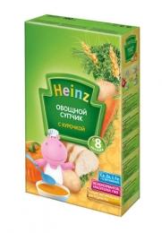 Овощной супчик Heinz с курочкой