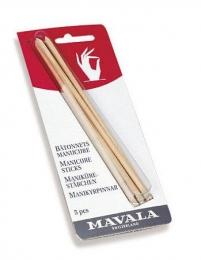 Палочки для кутикулы Mavala Manicure Sticks из березового дерева
