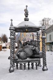 Памятник Коту Казанскому (Россия, Казань)