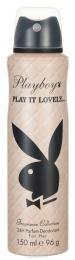 Парфюмированный дезодорант для женщин Playboy Play it lovely