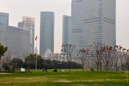 Парк Lujiazui (Китай, Шанхай)