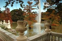 Парк Ретиро в Мадриде (Испания)