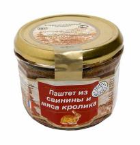 Паштет Jean Brunet из свинины и мяса кролика