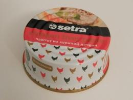 Паштет Setra из куриной печени