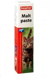 Паста для вывода проглоченной шерсти из кишечника кошек и котят Malt Paste