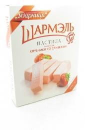 """Пастила """"Шармэль"""" со вкусом клубники со сливками"""