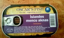 Печень исландской трески Oskar's Fish