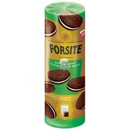 Печенье Forsite сахарное Шоколадно-сливочный вкус