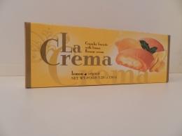 Печенье La Crema lemon original с лимонным кремом
