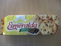 "Печенье Roshen ""Esmeralda"" with Chocolate Coating Drops"