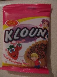 "Печенье сахарное Lord ""Kloun"" Sweet Biscuits with Strawberry Flavor Вкус клубники"