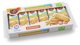 Печенье сдобное мультизлаковое Фитнес на фруктозе «Хлебный спас»