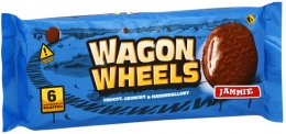 """Печенье """"Wagon Wheels"""" с суфле и джемом в шоколадной глазури"""