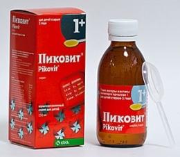 Витамины Пиковит сироп для детей от 1 года