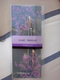 Пинцет для бровей  Watsons Slant Tweezer со скошенными кончиками