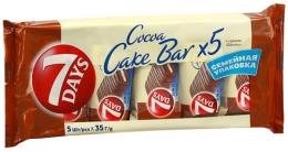 """Пирожное 7 Days Cake Bar бисквитное с кремом """"Ваниль"""""""