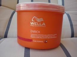 Питательная крем-маска Wella Enrich для нормальных и тонких волос