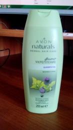"""Питательный шампунь для волос Avon Naturals Herbal Hair Care Фитоукрепление """"Крапива и лопух"""""""