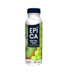 """Питьевой йогурт с киви и виноградом """"Epica"""""""