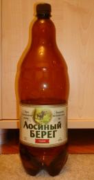 """Пиво """"Лосиный берег"""" медовое"""