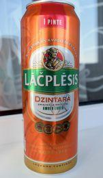 Пиво Lāčplēsis Dzintara