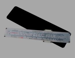 """Пластиковая навигационная линейка """"Pilot-shop"""" НЛ-10"""