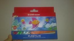 Пластилин ErichKrause 12 шт. арт. 31057