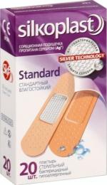 Пластырь бактерицидный Silkoplast Standard