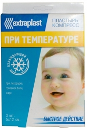 Пластырь-компресс Extraplast при температуре охлаждающий