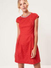 Платье Mohito с бижутерийной аппликацией SI946-33X