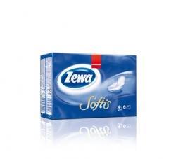 Бумажные платочки Zewa Softis