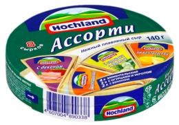 Плавленый сыр Hochland ассорти