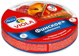 """Плавленый сыр Viola ассорти """"Финское избранное"""""""