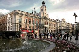 Площадь Пуэрто дель Соль (Мадрид, Испания)