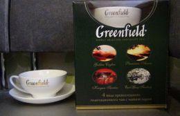 Подарочный набор чай Greenfield с чайной парой