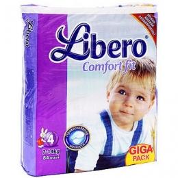 Подгузники Libero Comfort fit