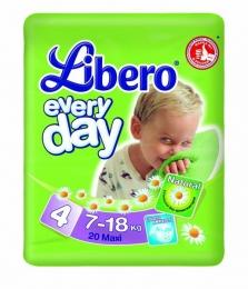 Подгузники Libero every day с ромашкой