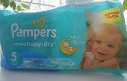 Подгузники Pampers Active Baby-Dry Jumbo Pack