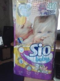 Подгузники Sio Baby midi