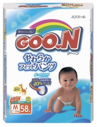 Подгузники-трусики GOON M
