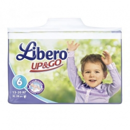 Подгузники-трусики Libero Up&Go