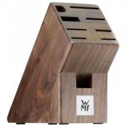 """Подставка для ножей деревянная WMF из натурального дерева, цвет """"орех"""""""