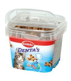 """Подушечки """"Sanal"""" Denta`s для зубов кошек"""